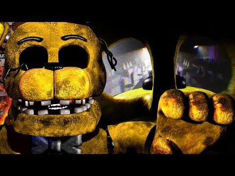 PLAYING AS GOLDEN FREDDY!| Five Nights at Freddys Unreal Edition (Part 1)