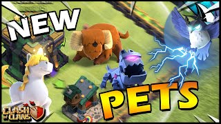 NEW Hero PETS at Town Hall 14!! Learn how to use the Pets in Clash of Clans!