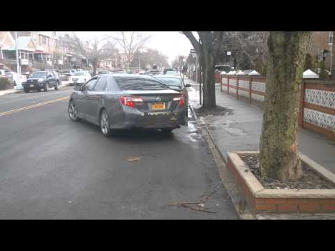 First time Parallel parking in NY Brooklyn