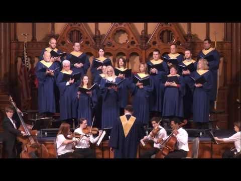 The Old Stone Choir performs Vivaldi's Gloria