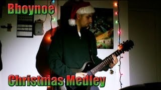 Christmas Songs on Guitar ( Christmas Rock Medley )