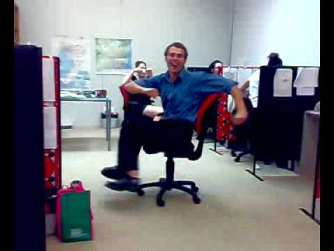 Office Chair Spinning