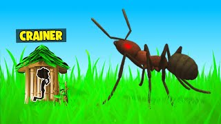 GIANT ANT Vs TINY HOUSE! (Grounded)