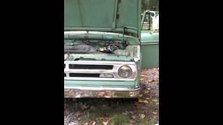 barn find-1971 dodge d100 truck