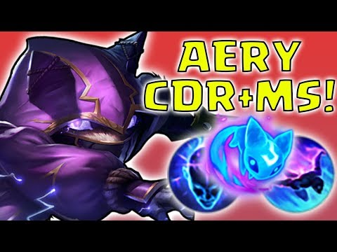 KENNEN TOP AERY + CDR + MS - Preseason 8 Season 8 s8 Patch 7.22 Gameplay w/ Commentary Guide How to