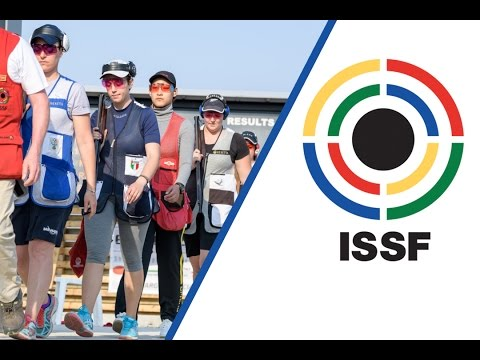 Trap Women Final  2017 ISSF World Cup Stage 3 in Larnaka CYP