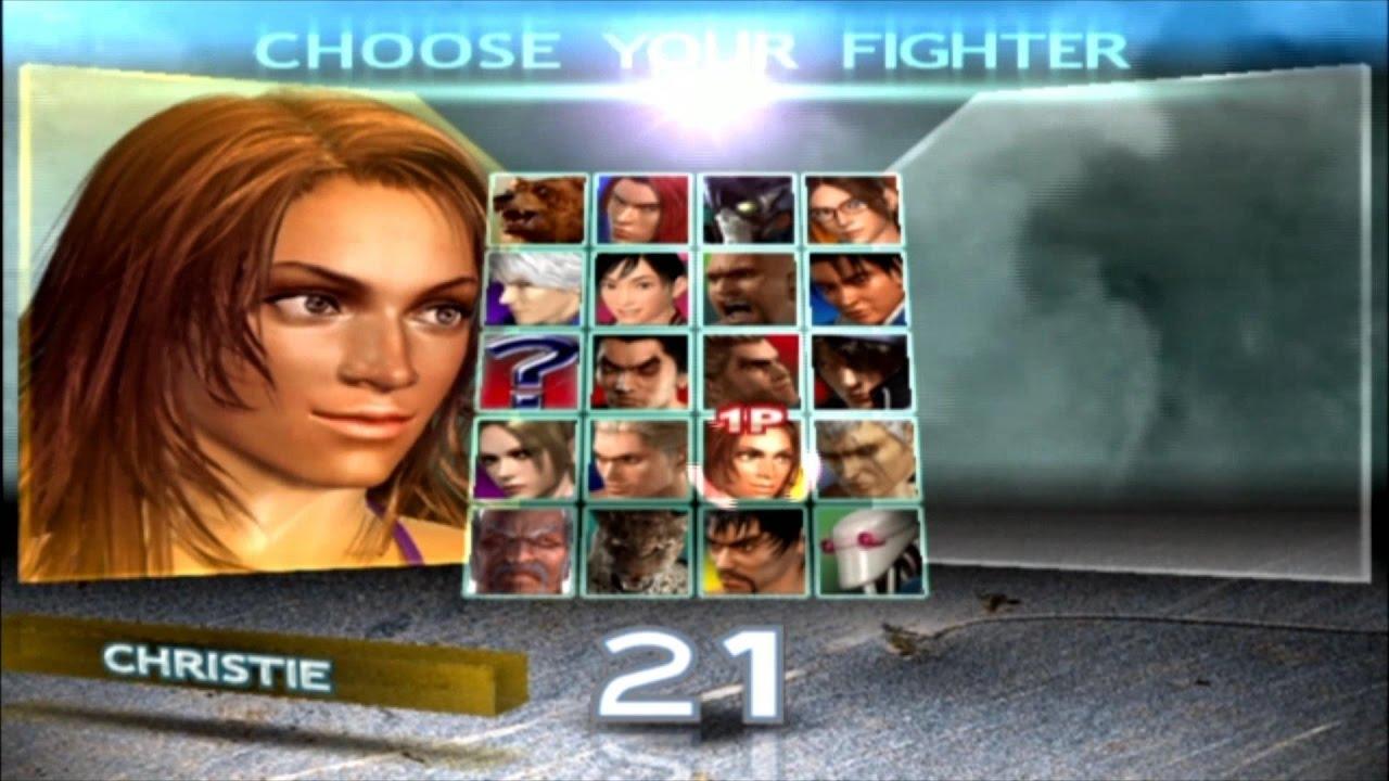 Tekken 4 Christie Monterio Youtube