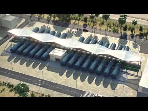 World's Largest Solar Powered Seawater Desalination Plant