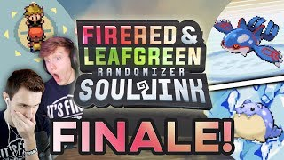 WILL WE WIN!? | Pokemon Fire Red & Leaf Green Randomized Soul Link Finale