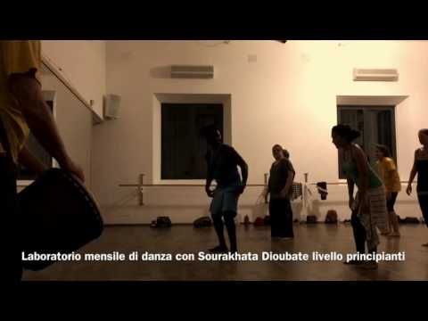 Sourakhata Dioubate laboratorio mensile di danza @Leggere Strutture Factory