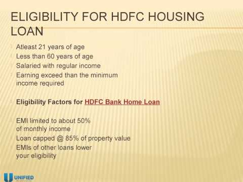 HDFC Bank Home Loan