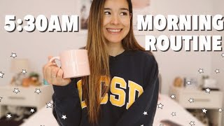 5:30AM MORNING ROUTINE 2020 | Full Time Work