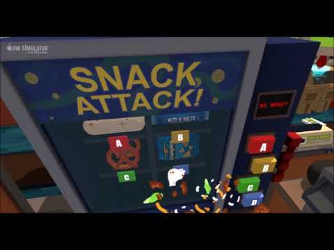 Job Simulator Messing With Office Workers (HTC Vive VR)