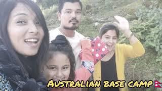Explore Australian Camp || with my family friends || pokhara to Australian camp