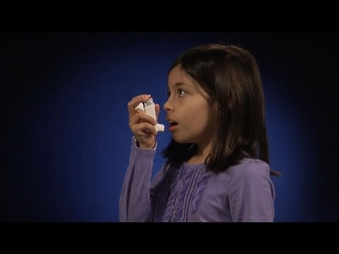 Using A Metered Dose Inhaler One To Two Inches From Mouth