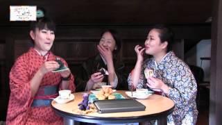 京都きものTV 楽々きもの三姉妹 錦市場でお買い物