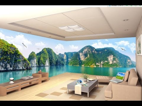 3D Wallpaper for wall 2017(AS Royal Décor) - YouTube