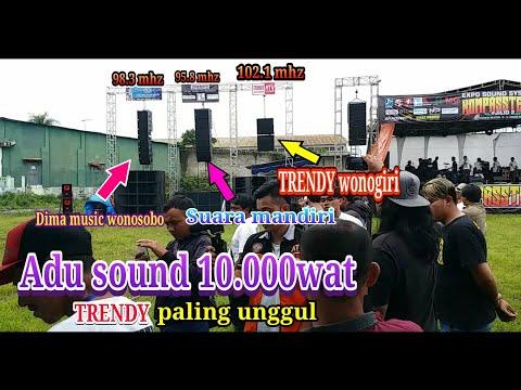 ADU 3 SOUND 10.000 WAT | TRENDY YANG PALING UNGGUL |  parade sound parakan temanggung