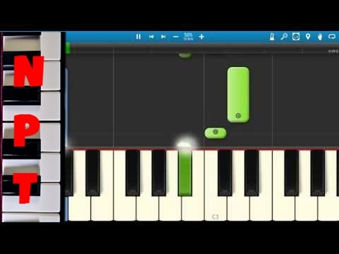 K Camp - Comfortable - Piano Tutorial - How to play Comfortable - Synthesia