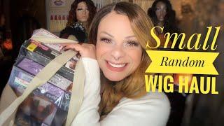 Small Wig Haul   Glamourtress, Ebonyline, Shophairwigs   Random