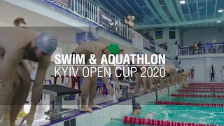 Swim & Aquathlon | Kyiv Open Cup 2020  #плавание #акватлон #CapitalTRI