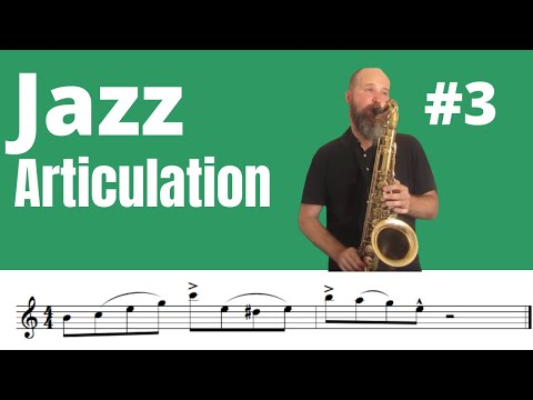 Jazz Articulation 3 (ENG Sub) Basic Tongue Techniques 3