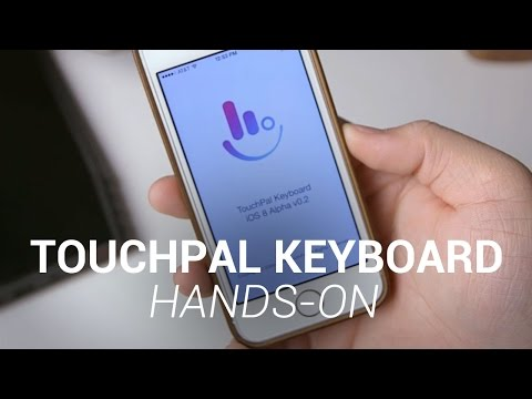 TouchPal Keyboard for iOS 8 Hands-On