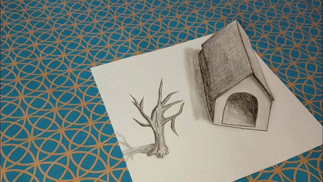Comment Dessiner Une Illusion Doptique Maison 3d