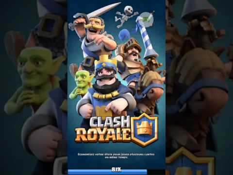 On debute  clash royal