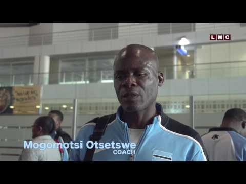 Coach Mogomotsi Otsetswe Leaving for Rio Olympics, 2016
