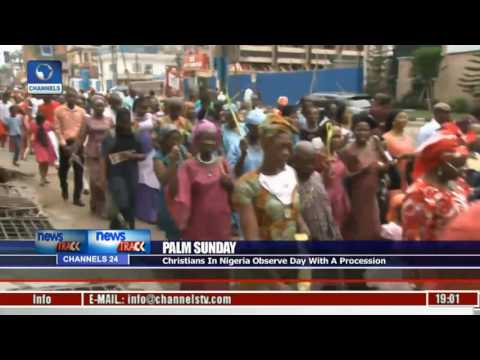 Palm Sunday: Christians In Nigeria Observe Day With A Procession