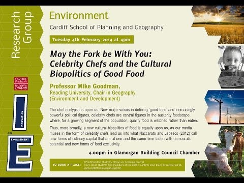 May the Fork be With You - ENVIRONMENT RESEARCH GROUP SEMINAR