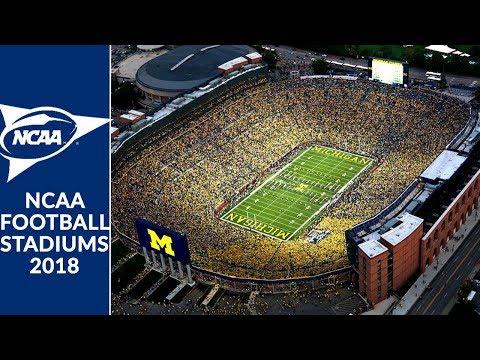 NCAA Football Stadiums 2018