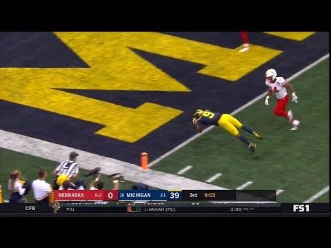 2018 Michigan Football Highlights v Nebraska