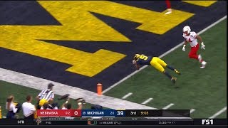 2018 Michigan Football Highlights v Nebraska