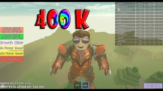 Roblox - Titan Simulator 400k power