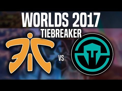 FNC vs IMT - Tiebreaker - Worlds 2017 Group Stage Day 5 - Immortals vs Fnatic | Worlds 2017
