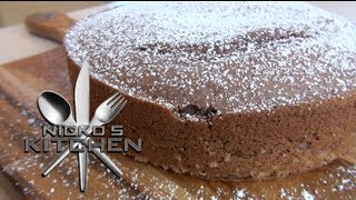 Chocolate Cake (2 Ingredients) - Nicko's Bakery