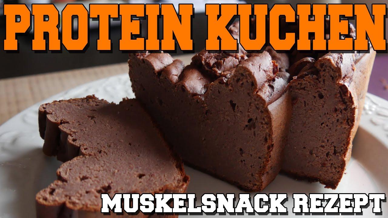 Muskelsnack Rezept Protein Kuchen Youtube