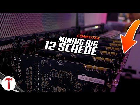 Mining RIG da 12 schede video (GPUS) a 8000€