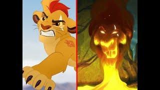 Lion Guard-How i got my scar- Kion version