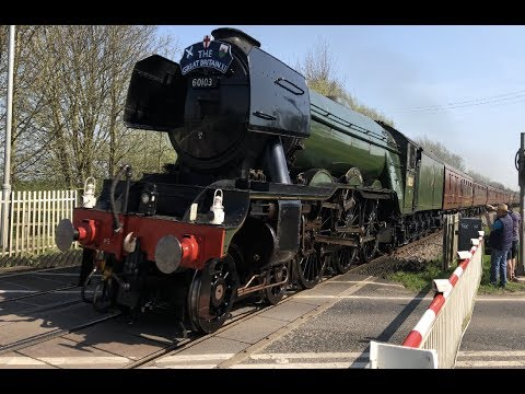 *MAJOR MALFUNCTION* *FLYING SCOTSMAN* Haxey Crossing (19/04/18)