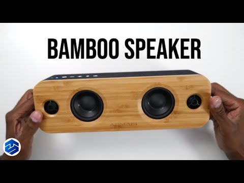 AOMAIS LIFE 30W Bamboo Wood Bluetooth Speakers 🔊