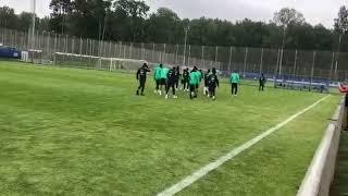 بالفيديو.. الأخضر يستعد لمواجهة المنتخب المصري - صحيفة صدى الالكترونية