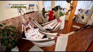 [FULL CUT] 141228 SJM GuestHouse - EUNHAE Ryeowook Bed Time & Mission