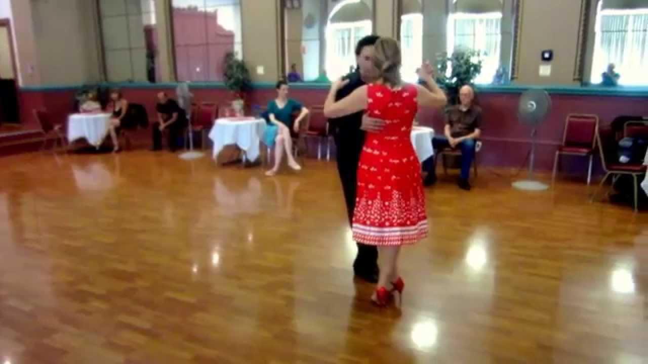 Argentine Tango Steps: Double Crosses Sacadas-Ochos slow motion www.tangonation.com 10/25/2015 - YouTube