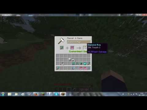 how to open a enchanted book in minecraft pe