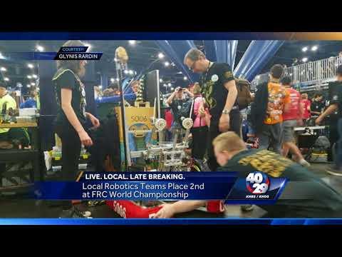 Local Robotics Teams compete at Robotics World Championship