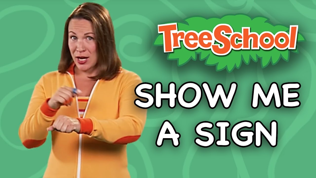 Show Me A Sign Baby Signing Time Two Little Hands Tv Youtube