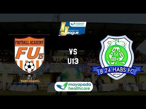 FU15FA Bina Sentra vs B24 HABS FC [Indonesia Junior Mayapada League 2018] [U13] 4-11-2018